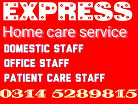 We provide Family COOK, Trained HELPER, PATIENT CARE, DRIVER, MAID Etc