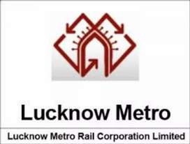 Required candidate computer oprator in Lucknow Metro