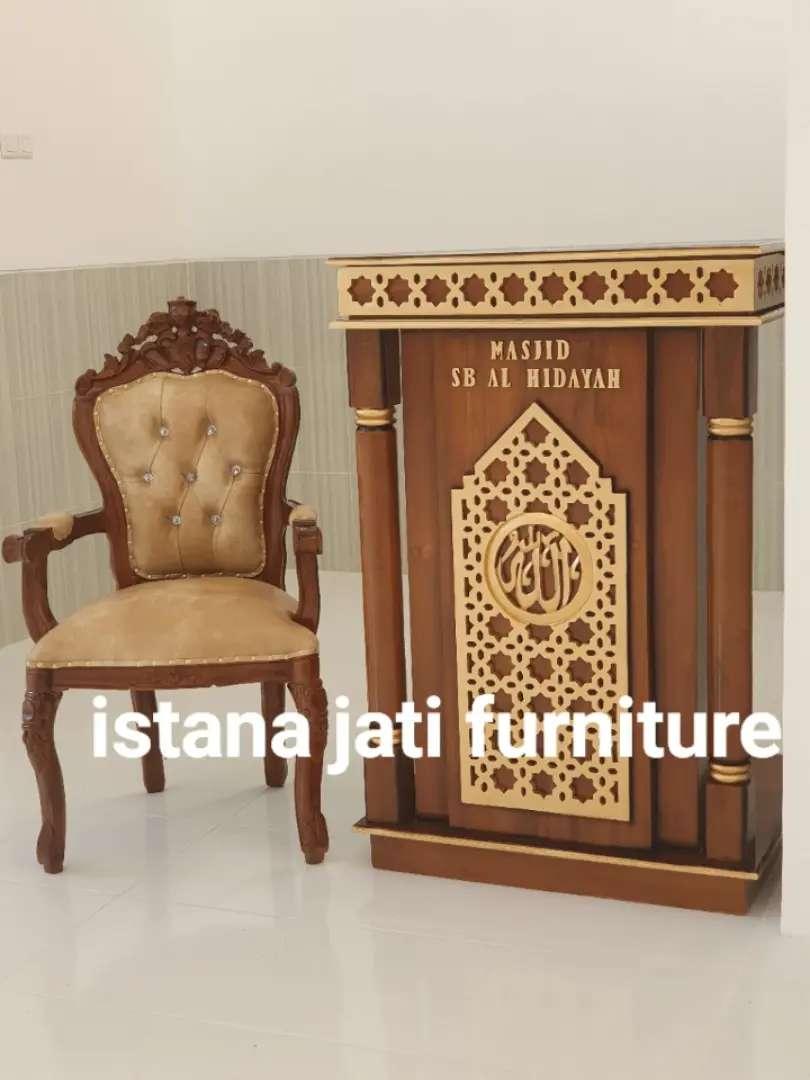 Free ongkir Mimbar Masjid  khutbah masjid/mushollah
