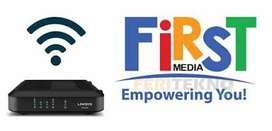 WiFi Firstmedia Unlimited & TV Kabel