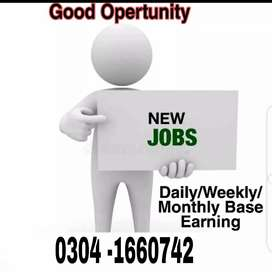 Accountant job available for Male and female