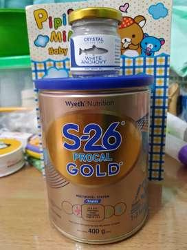 Dijual sufor S26 Procal Gold dan Bubuk Teri untuk MPASI