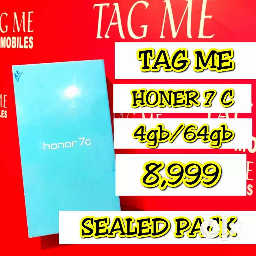 TAG ME HONER 7C 4GB 64GB SEALED PACK 0