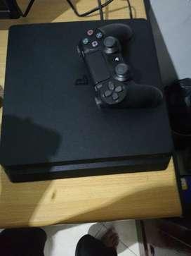 PS4 slim 1tb kondisi lengkap