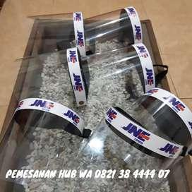 Face Shield , Mika Tebal 0.6 mm, Dan Busa Tebal