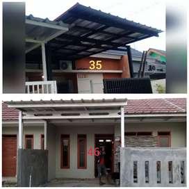 Kanopi minimalis, Kanopi baja ringan, HEMAT Mampang Prapatan