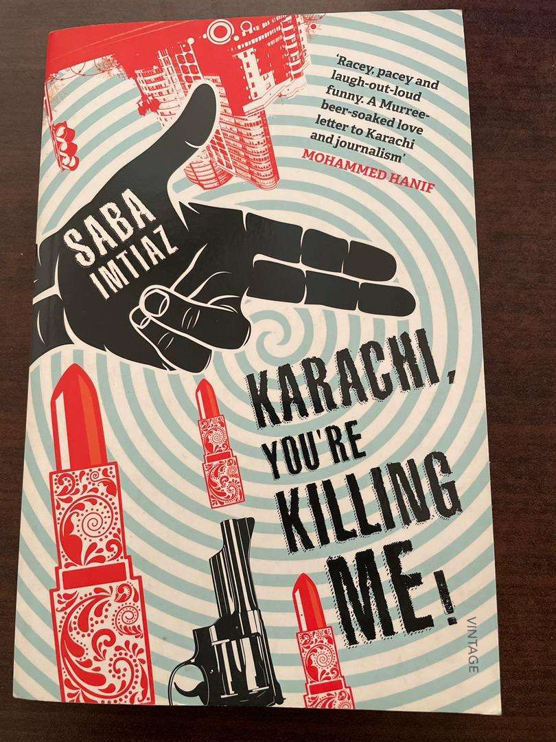 Book: Karachi, you're killing me