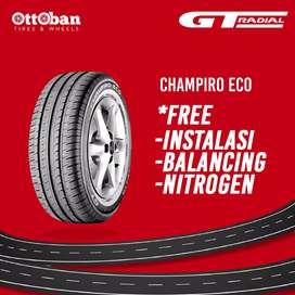Ban GT radial champoro eco ukuran 185/70/14