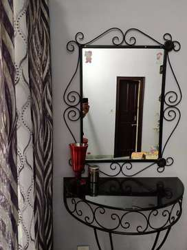 Wrought iron dressing table for sale
