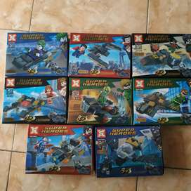 Lego nonori dc justice league dan kendaraan