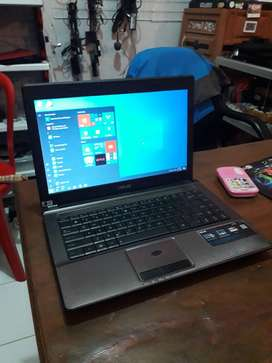 Laptop ASUS X44C ALL NORMAL FULLSET GARANSI 1 BULAN