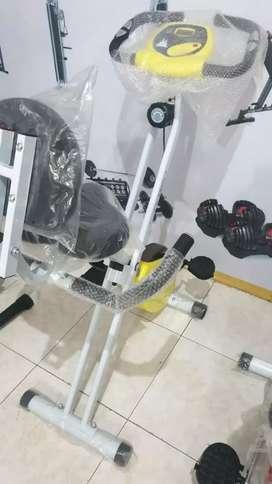 Sepeda statis bisa dilipat hemat tempat