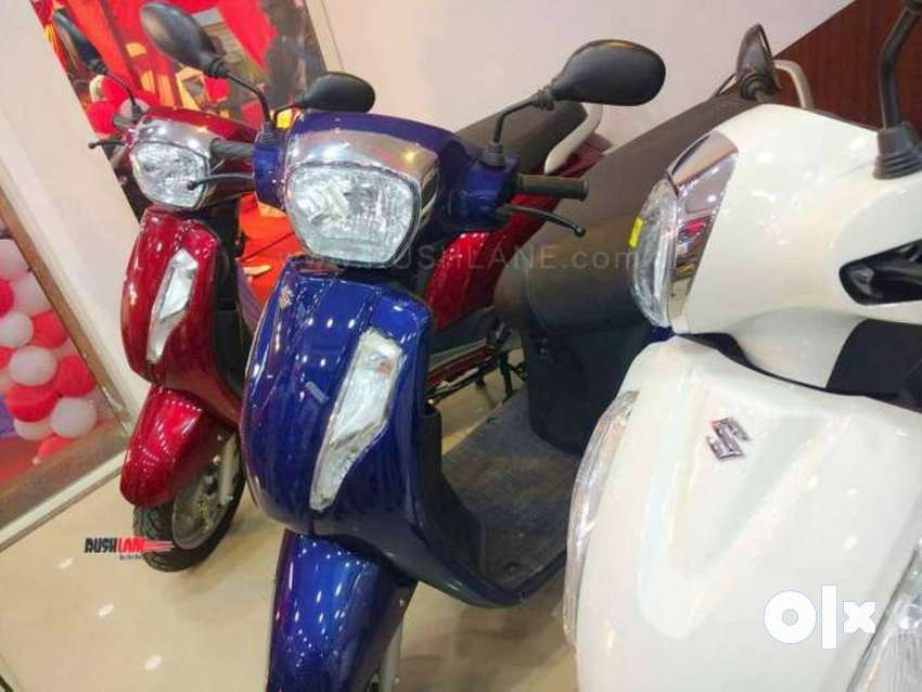 Brand New Suzuki Access 125 Bs6 fI at low down payment @4999 0