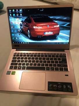 Acer Swift 3 Upgrade SSD 256GB + Ram 8GB Jual Cepet Nego,Garansi Aktif