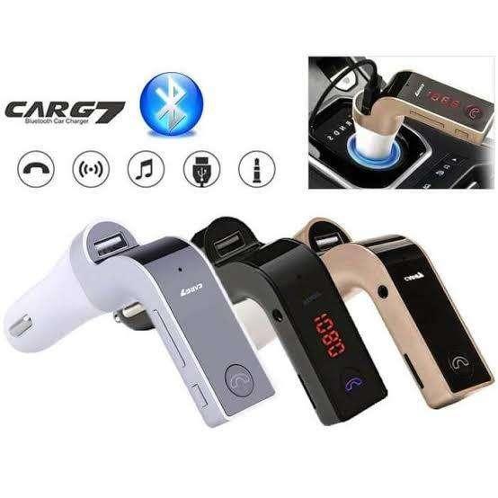 Modulator MP3 Bluetooth Audio + Car Charger Mobil