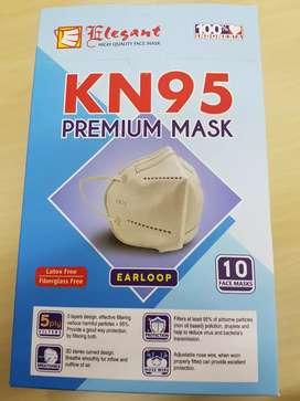 Masker KN 95 isi 10 pcs di lapisi 5 kain non woven ELEGANT
