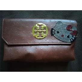 dompet wanita kulit hello kitty