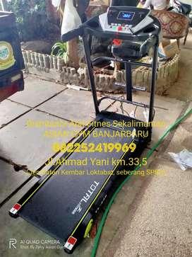 Ready treadmill elektrik TL 246 3 fungsi manual incline, harga murah