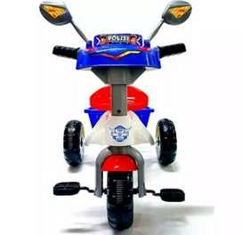 Mainan sepeda anak polisi