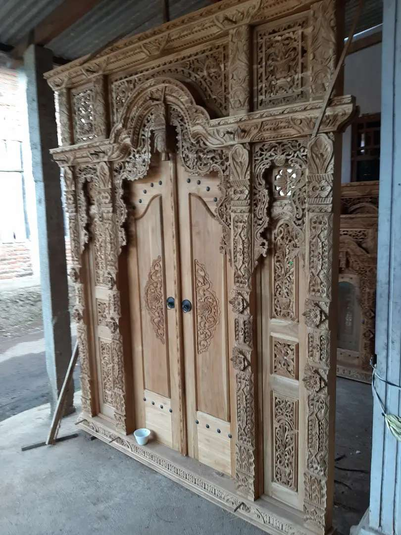 sukari pintu gebyok gapuro jendela untuk rumah gedung masjid musholla 0