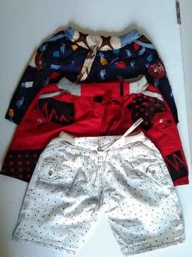 Celana Pendek Anak HPNT3 Motif Unisex 1-3 Tahun Kualitas Bagus
