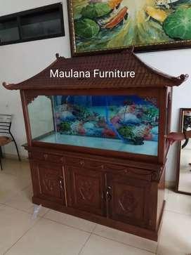 Bufet meja aquarium Made Maulana
