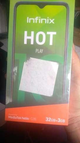 Di jual hp infinix hot 10 play