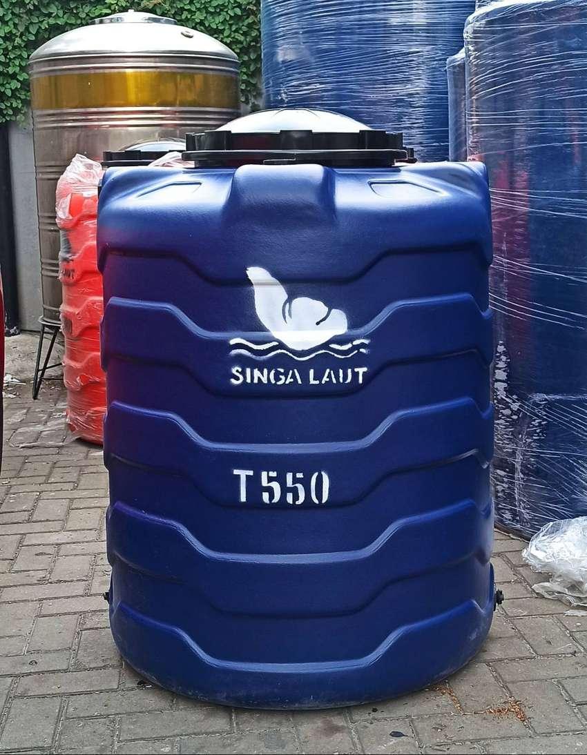 Toren tandon air bagus 550 ltr plastik