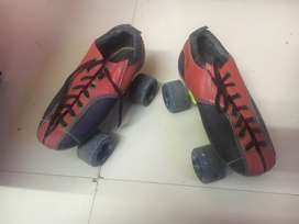 Shoe skating