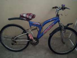 Heavy bicycle in very good condition