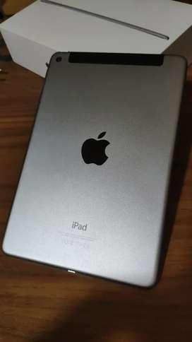 iPad mini Cellular 128 GB + case Spigen + iOS update iPad OS 14