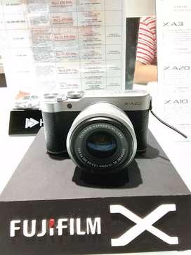 Kamera Fujifilm X-A20 ready stock cicilan tanpa kartu kredit bisa loh