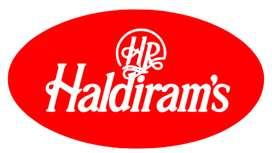Opening Availability For Haldiram Company.