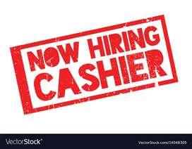 Cashier job in Ranchi Airport.