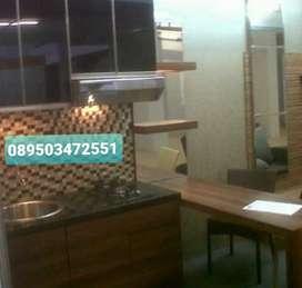Produksi Kitchen Set Fin Hpl