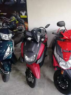 All New Yamaha Ray Zr low down payment only for chennai