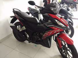 jual supra GTR new terbaru merah hitam