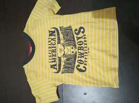 Sale Kaos anak warna kuning macbear murah