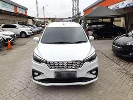 Suzuki New Ertiga GL A/T Thn 2019 Putih Kilometer Low