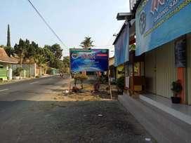 Disewakan Kios di Tepi Jalan Kaliurang Kilometer 16