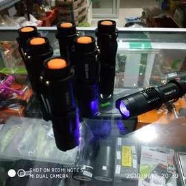 Senter led ultraviolet (uv)