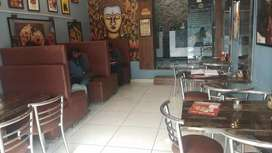 A Running Pizza store well furnished and attractive Dinning Area