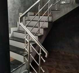 Railing tangga stainless steel dan balkon #1756