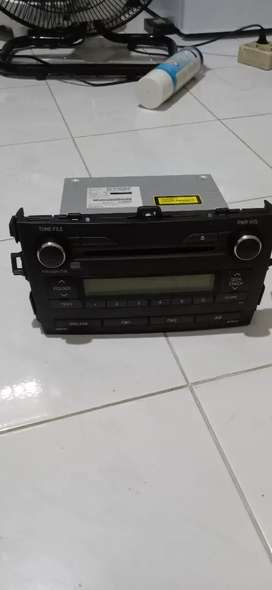 Head Unit Single Din Altis 2011 original - NEGO