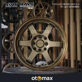 Velg Mobil Volk Rays TE37 Ring 15 H8 Bronze
