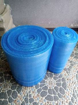 Plastic Bubble wrap sheet 24 inches wide in Blue color