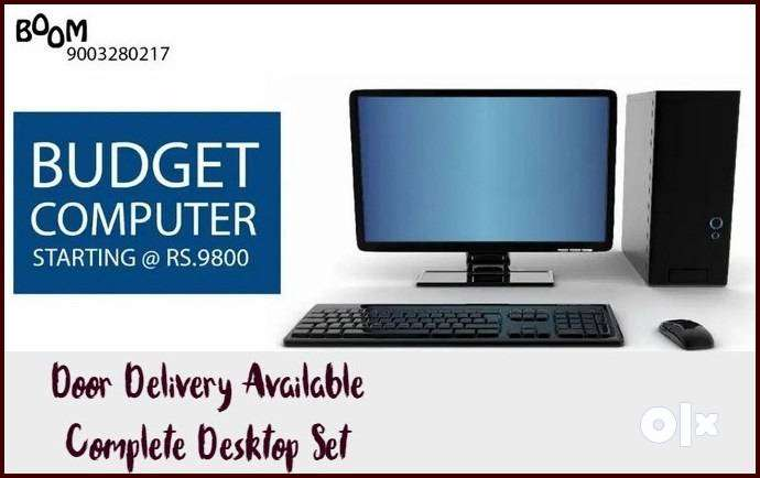 SAVER OFFER BEST For HOME Desktop Set Complete with Warranty & Bill St 0