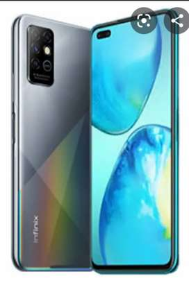 Infinix note 8 condition 10+ 10
