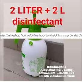 PUMP DISINFECTANT 2 LITER