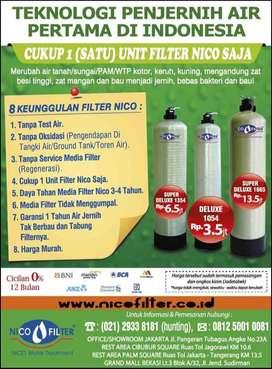 Nico Filter Water Treatment   Atasi Air Keruh Kotor Zat Besi Tak Bau